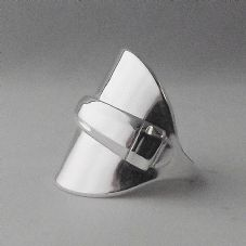 Stunning Handmade Antique Sterling Silver 925 Spoon Ring date 1953 Perfect Gift